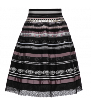 "Lena Hoschek ribbon skirt ""dark desire"" - Season of the Witch - SS20 - FS20 - Lena Hoschek ""dark desire"" Bänderrock"
