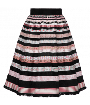 "Lena Hoschek ribbon skirt ""forever love"" - Season of the Witch - SS20 - FS20 - Lena Hoschek Bänderrock ""forever love"""