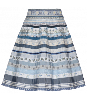 "Lena Hoschek ribbon skirt ""forget-me-not"" - Season of the Witch - SS20 - FS20 - Lena Hoschek Bänderrock ""forget-me-not"""