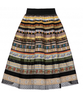 "Lena Hoschek ribbon skirt ""midsummer"" - Season of the Witch - SS20 - FS20 - Lena Hoschek Bänderrock ""midsummer"""