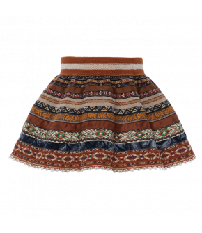 "Lena Hoschek ribbon skirt mini in ""artisan"""