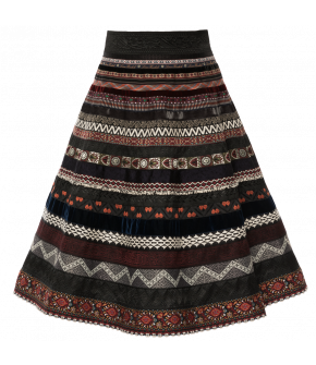 "Ribbon skirt by Lena Hoschek in the colour ""prairie"""