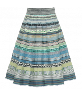 Ribbon Skirt seaside by Lena Hoschek - Tutti Frutti Spring / Summer 2019