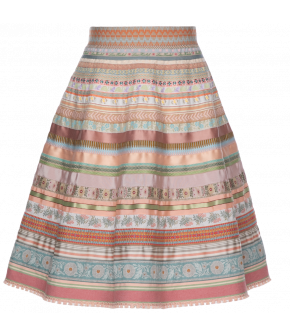 "Lena Hoschek ribbon skirt ""sunset"" - Season of the Witch - FS20 - SS20 - Lena Hoschek Bänderrock ""sunset"""