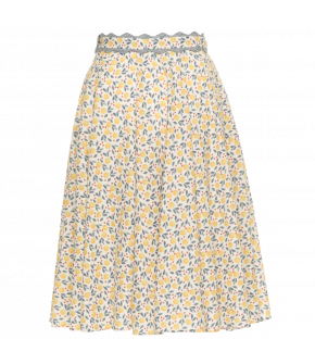 Vacation Skirt orange lemonade by Lena Hoschek - Tutti Frutti Spring / Summer 2019