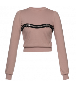 "Lena Hoschek ""Kink"" sweater in rose - Season of the WItch - SS20 - FS20 - Lena Hoschek ""Kink"" Pullover in Rosa"
