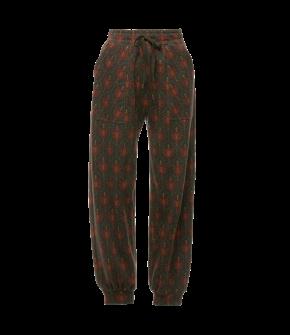 Eat My Feelings Sweatpants tapestry in grey by Lena Hoschek - AW21/22 autumn/winter collection - Biedermeier