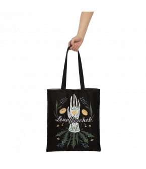 "Lena Hoschek ""Season of the Witch"" Tote Bag with printed Graphic"