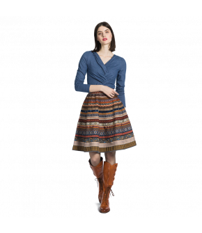 "Lena Hoschek ribbon skirt in ""Artisan"""