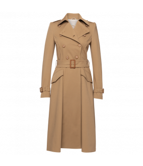 Boulevard Trenchcoat in brown by Lena Hoschek - SS21 summer collection - Antoinette's Garden