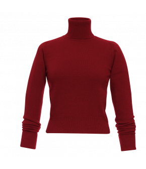 Lena Hoschek Turtleneck Lord in indian red from the Autumn/Winter2021 collection Artisan Partisan.