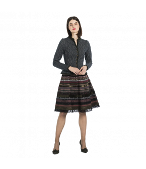 Lena Hoschek Traditional jacket in dark grey, called