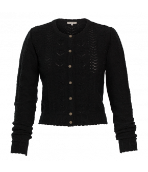 Rosi Cardigan anthracite by Lena Hoschek Tradition for the autumn/winter collection 20/21