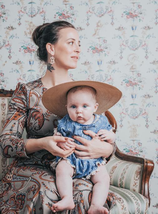 Lena Hoschek & daughter Apollonia