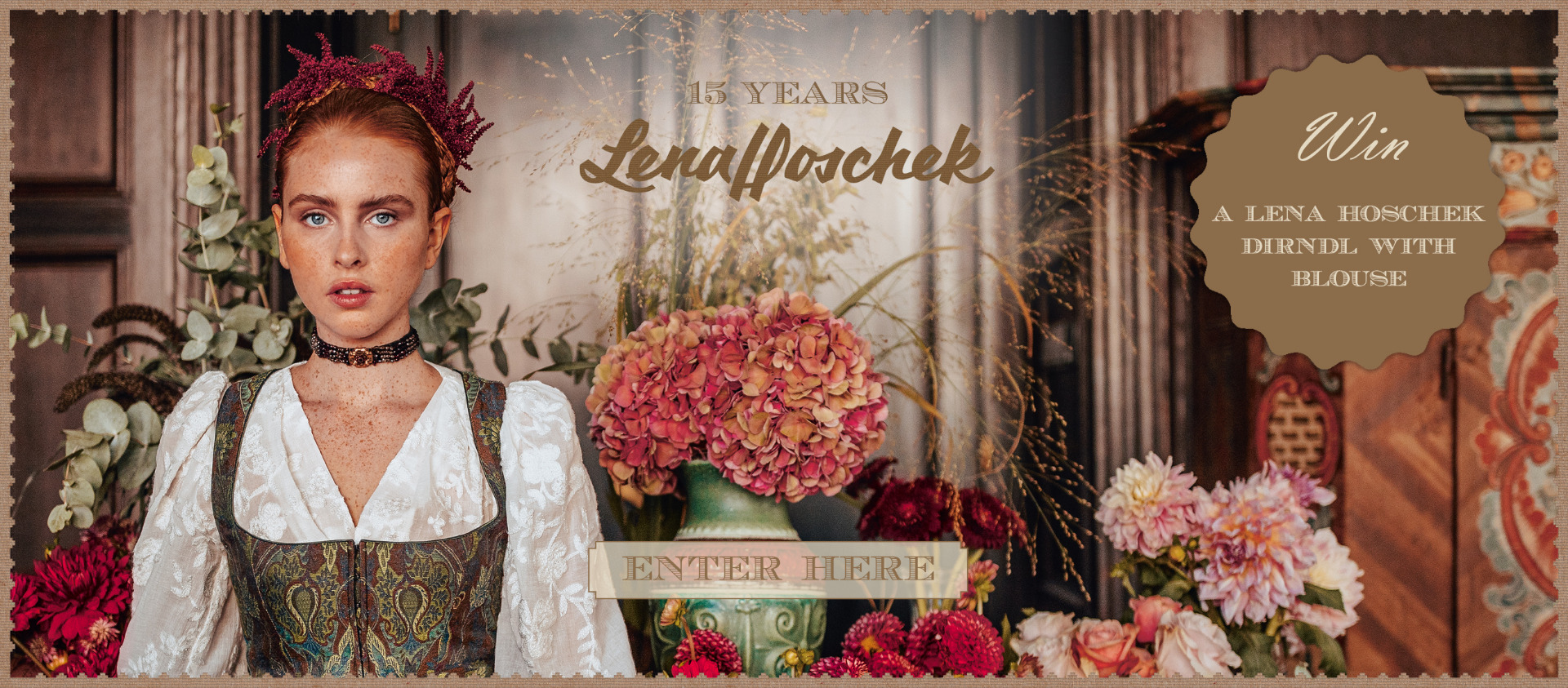 Win a Dirndl with Blouse by Lena Hoschek