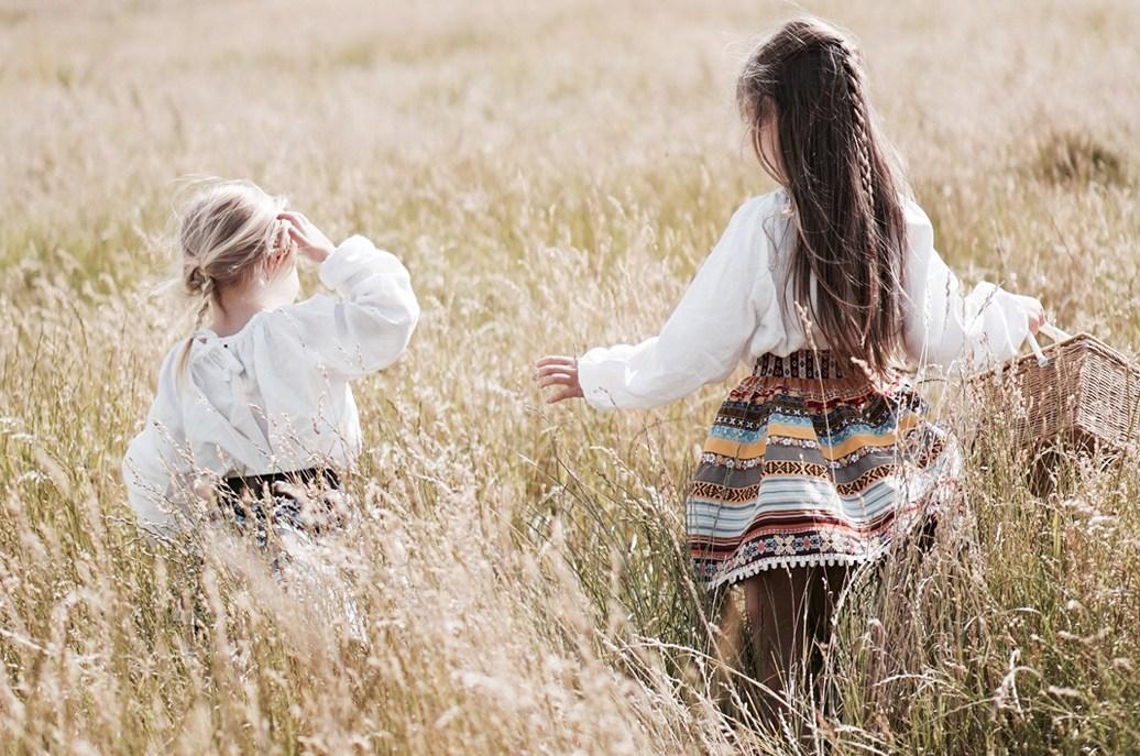 Lena Hoschek - Ribbon skirts for kids - Copyright Isabel London