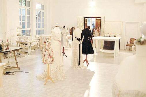 Lena Hoschek Atelier inside