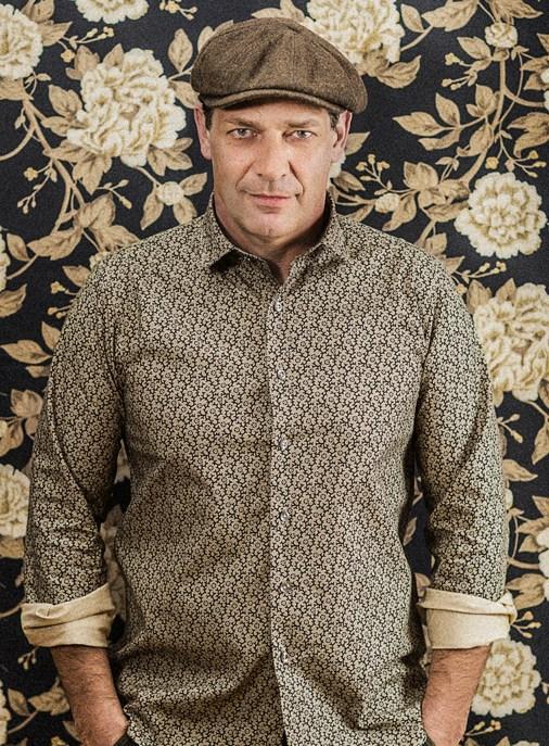 Lena Hoschek Men's Shirt - Costello Shirt dark roots - CR Jenni Koller