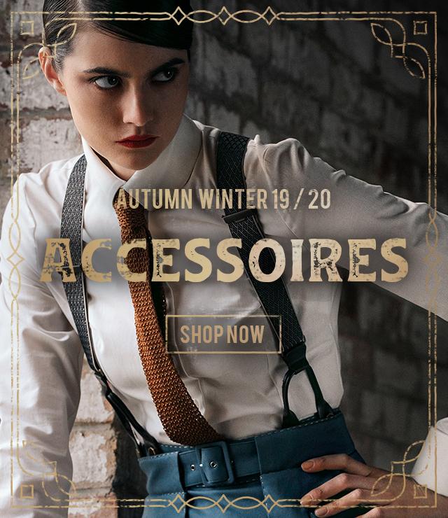 Lena Hoschek accessoires for Autumn / WInter 2019 collection