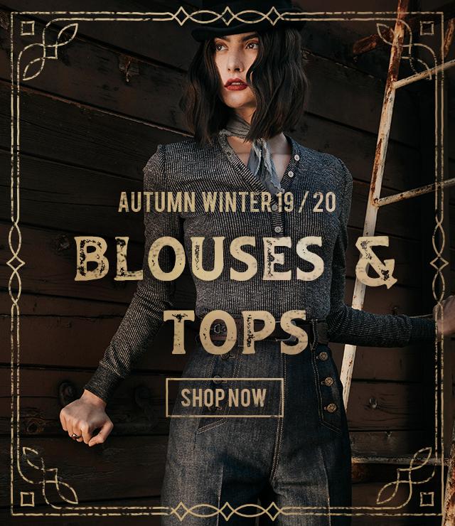 Lena Hoschek blouses & tops for Autumn / WInter 2019 collection
