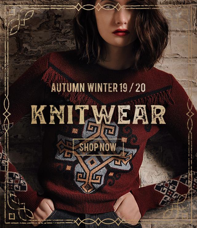 Lena Hoschek knitwear for Autumn / Winter 2019 collection