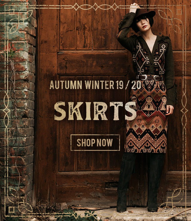 Lena Hoschek skirts for Autumn / Winter 2019 collection