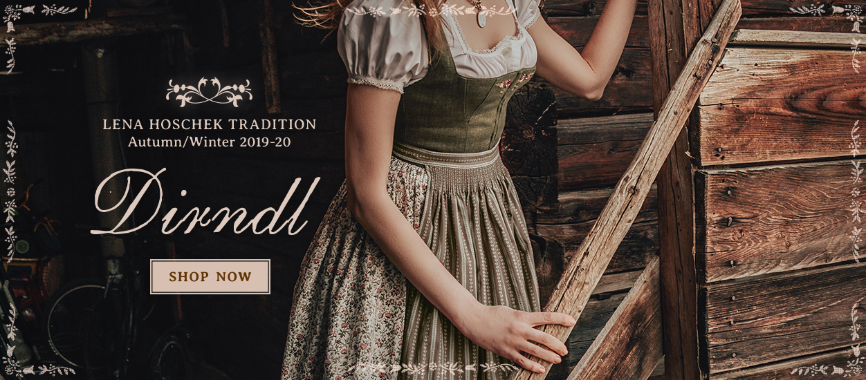 Lena Hoschek Tradition Dirndl from Autumn / Winter 2019 collection