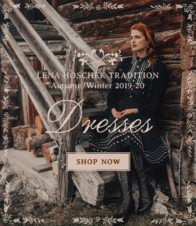 Lena Hoschek Tradition Dresses from Autumn / Winter 2019 collection