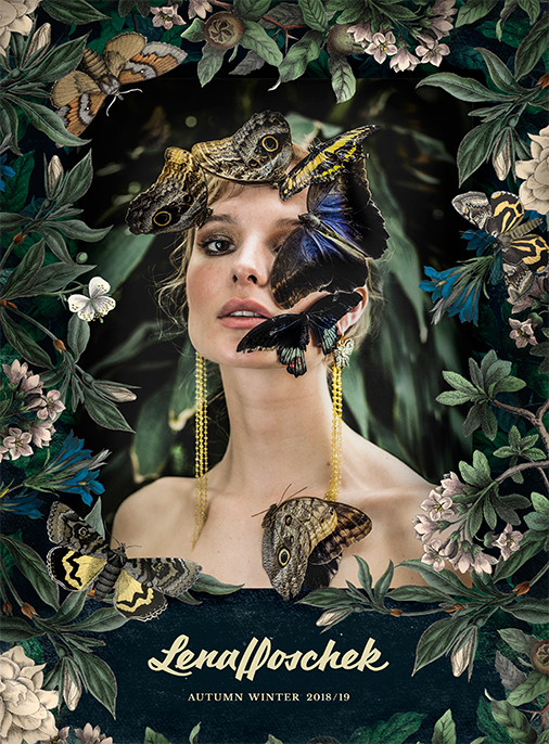Katalog - Lena Hoschek - AW1819 - Wintergarden - Bild 1