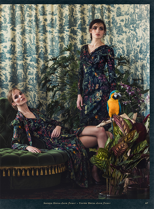 Katalog - Lena Hoschek - AW1819 - Wintergarden - Bild 47